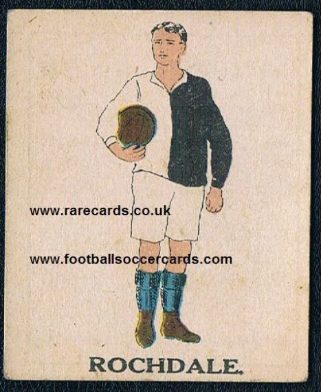 1923 Rochdale Battocks card